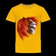 Baby & Toddler Shirts ~ Toddler Premium T-Shirt ~ THE LAUGHING PONY