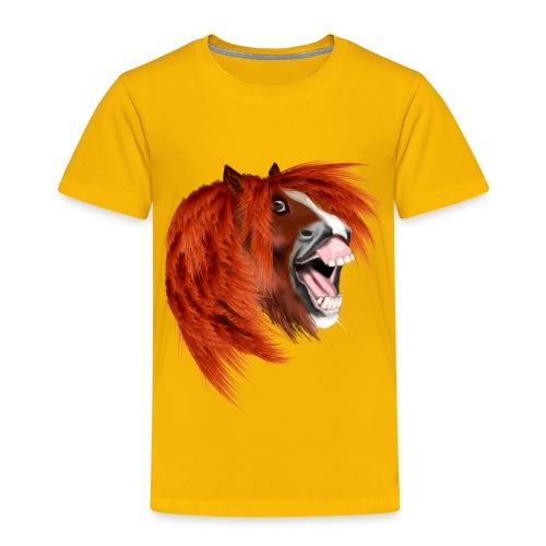 THE LAUGHING PONY - Toddler Premium T-Shirt
