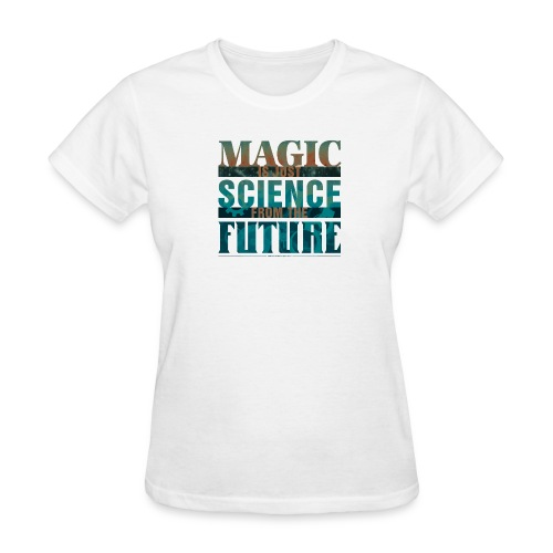 Magic—it's  Just Science, Rust & Teal - Women's T-Shirt