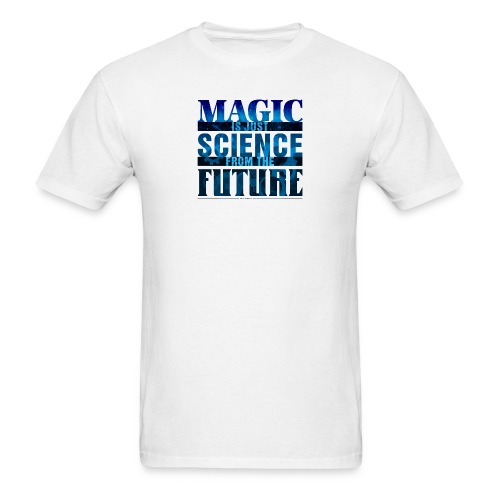 Magic—it's  Just Science, Blue - Men's T-Shirt