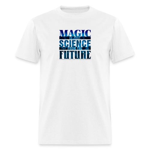 Magic—it's  Just Science, Blue - Men's T-Shirt