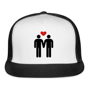 gay love Sportswear - Trucker Cap