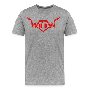 Workout with Wayne Mens Classic Logo Tee - Men's Premium T-Shirt