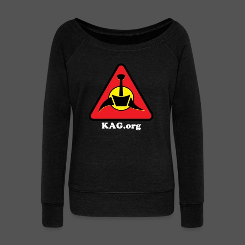 KAG Wideneck Sweatshirt - Custom Text - Women's Wideneck Sweatshirt