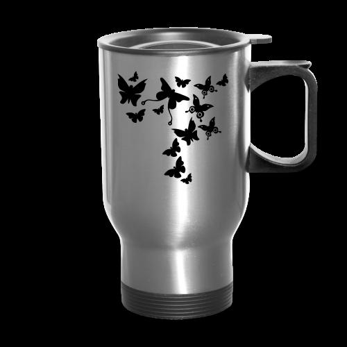 Butterflies Travel Mug - Travel Mug