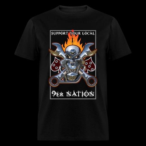 Skull & Wrench - Men's T-Shirt