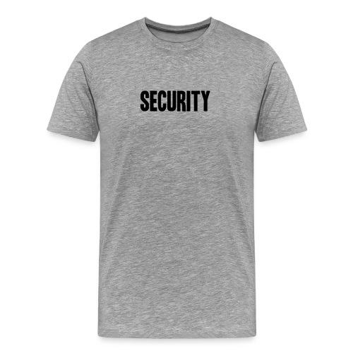 SECURITY Text Logo/Icon  - Men's Premium T-Shirt