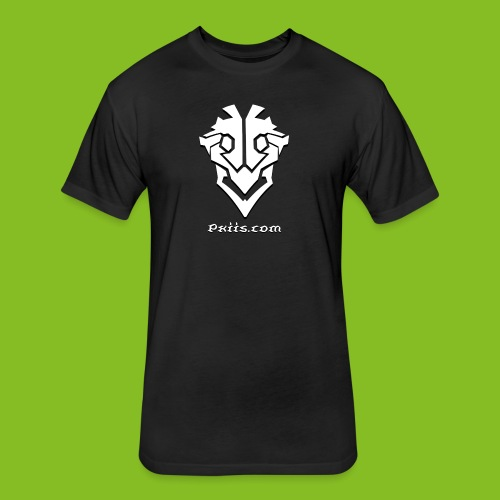 Pxiis Change Text Version - Fitted Cotton/Poly T-Shirt by Next Level