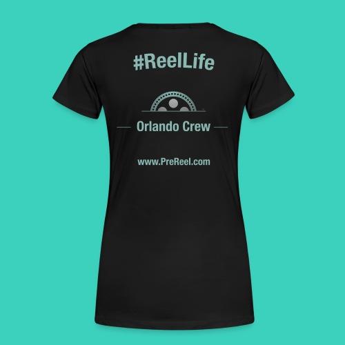 Women's PreReel Crew Shirt - Orlando - Women's Premium T-Shirt