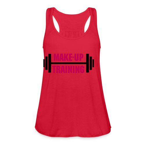 Make-Up Entrenar - Women's Flowy Tank Top by Bella