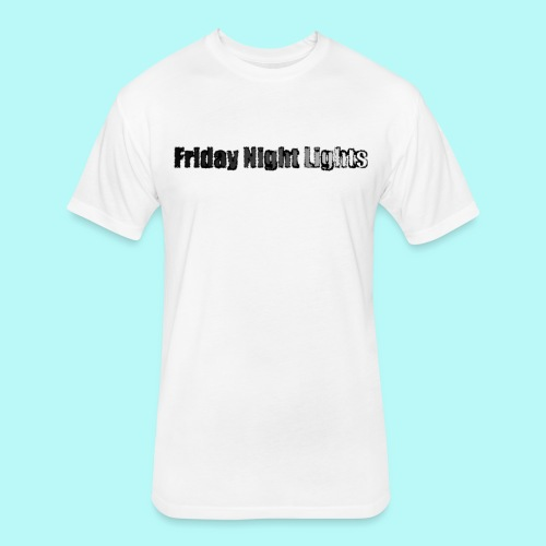 Friday Night Lights- Lets Grow - Fitted Cotton/Poly T-Shirt by Next Level