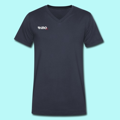 RhinoUp Mens V-neck t-shirt - Men's V-Neck T-Shirt by Canvas