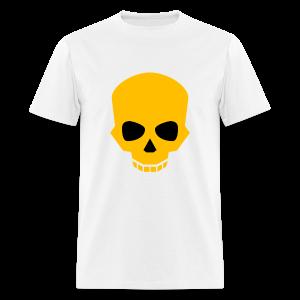 Golden skull - Men's T-Shirt
