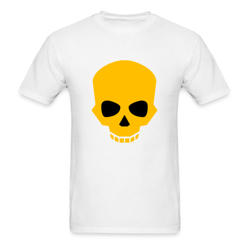 Golden skull - Men's T-Shirt