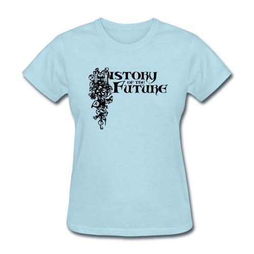 HOTF B&W Logo  - Female - Women's T-Shirt