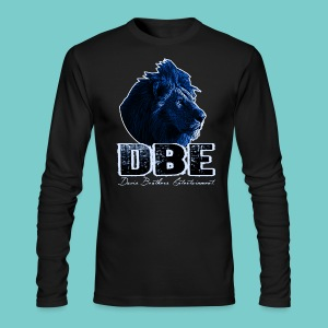 Men's black Long Sleeve Shirt (Blue logo) - Men's Long Sleeve T-Shirt by Next Level