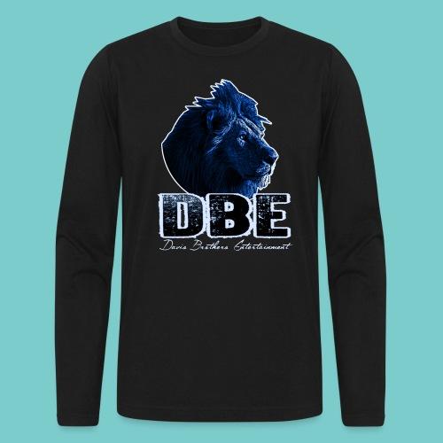 Men's black Long Sleeve Shirt (Blue logo) - Men's Long Sleeve T-Shirt by Next Level