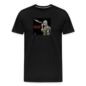 Note to Terrorists - Men's Premium T-Shirt