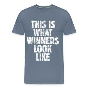 Winner T-Shirt S-5X Vintage/White - Men's Premium T-Shirt