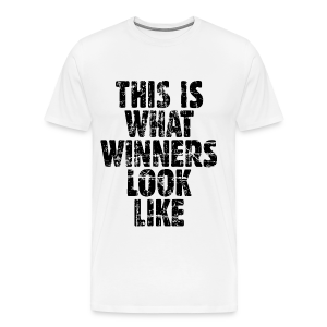 Winner T-Shirt S-5X Vintage/Black - Men's Premium T-Shirt