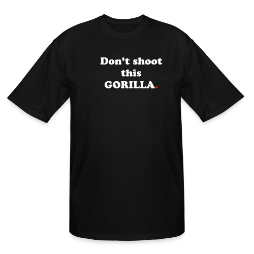Man Gorilla 5 - Men's Tall T-Shirt