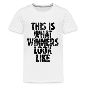 Winner Kids' T-Shirt Vintage/Black - Kids' Premium T-Shirt
