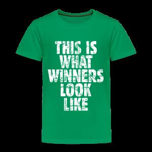 Winner Toddler T-Shirt Vintage/White - Toddler Premium T-Shirt