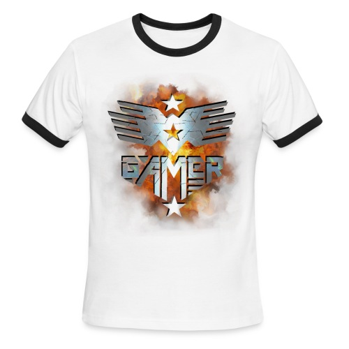 Gamer - Men's Ringer T-Shirt