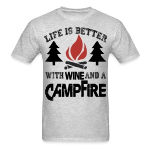 Camping Life Is Better - Men's T-Shirt