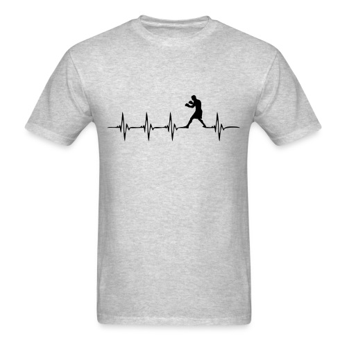 Heartbeat Boxer - Men's T-Shirt