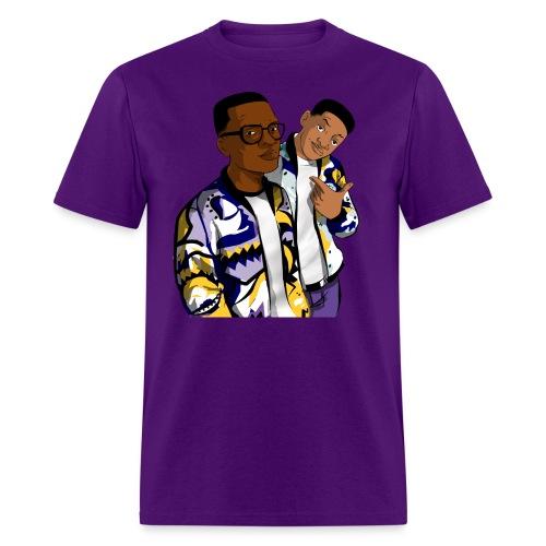 Fresh Prince Purple - Men's T-Shirt