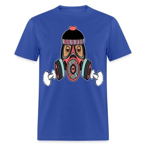 Gas Mask Light Blue - Men's T-Shirt