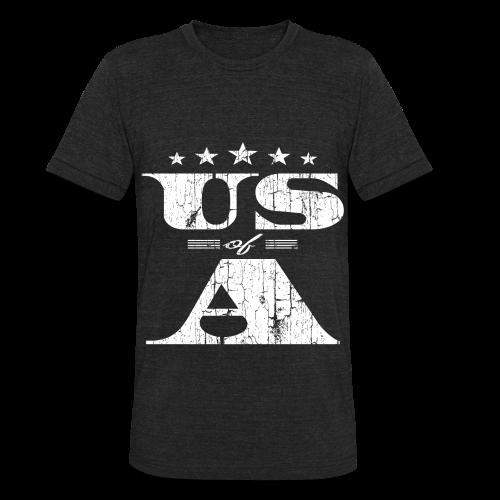 U.S of A Shirt - Unisex Tri-Blend T-Shirt