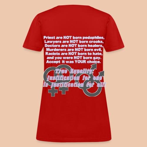 SD-HRC-BGw - Women's T-Shirt