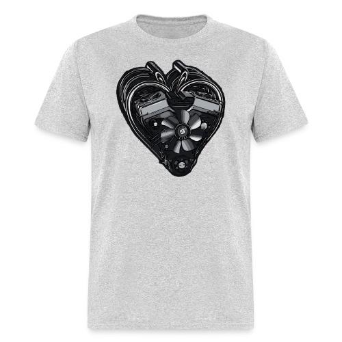 Car Heart T-Shirt - Men's T-Shirt