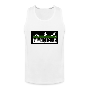 Men's Classic White Tank - Men's Premium Tank