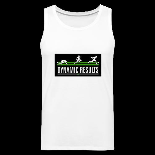 Men's Classic White Tank - Men's Premium Tank