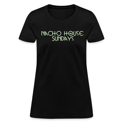 BlackGreen1 Womens - Women's T-Shirt