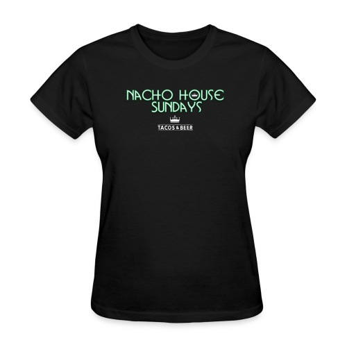 BlackGreen2Womens - Women's T-Shirt