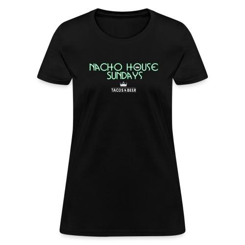 BlackGreen2Womens - Women's T-Shirt