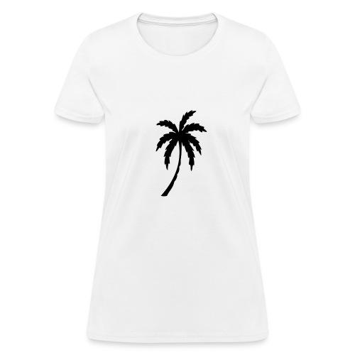 Women's Palm Tree Tee - Women's T-Shirt
