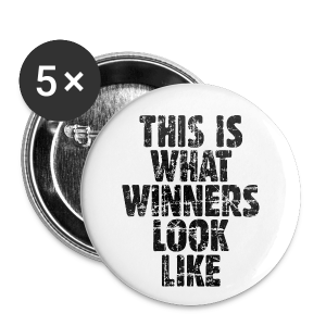 Winner Buttons Vintage/Black - Small Buttons