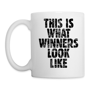 Winner Mug Vintage/Black - Coffee/Tea Mug