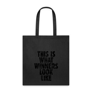 Winner Tote Bag Vintage/Black - Tote Bag