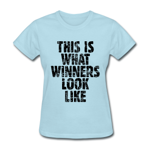 Winner T-Shirt Vintage/Black - Women's T-Shirt