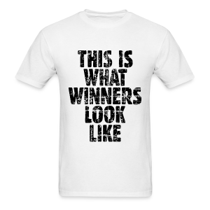 Winner T-Shirt Vintage/Black - Men's T-Shirt