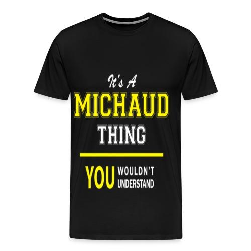 Michaud - Men's Premium T-Shirt