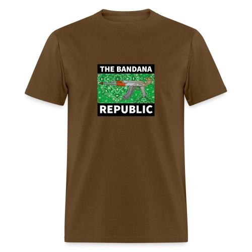 Bandana Republican t-shirt AK GREEN - Men's T-Shirt