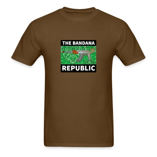 Bandana Republican t-shirt AK GREEN - Men's T-Shirt