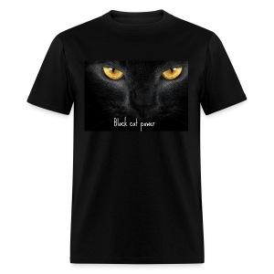 Black Cat Power - Men's T-Shirt